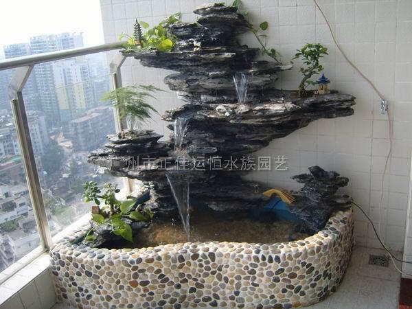 花园假山鱼池设计图展示