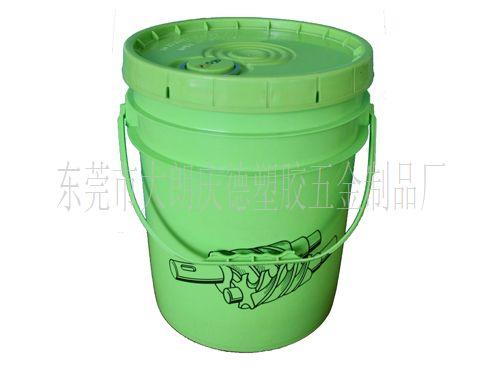 光绿色塑胶桶/液压油/润滑油桶 br>型号:18l