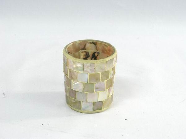 馬賽克燭杯