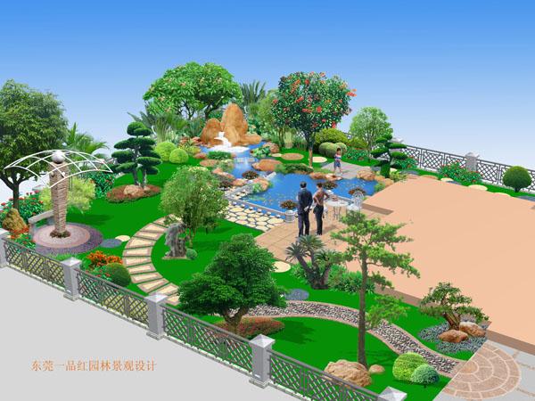 东莞园林公司|园林绿化|别墅私家花园设计|屋顶花园