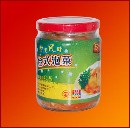 台式泡菜<br>瓶装222g