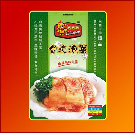 台式泡菜<br>大包350g