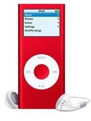 ipod nano 4G(二代)紅色