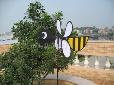 小蜜蜂造型布风车068-1