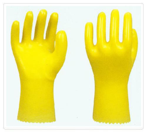 PVC棉毛浸塑手套