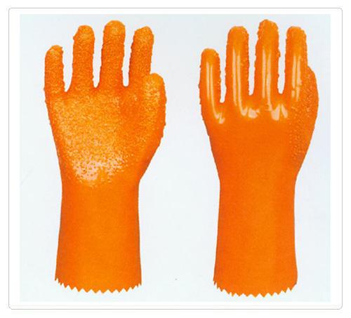PVC止滑浸塑手套
