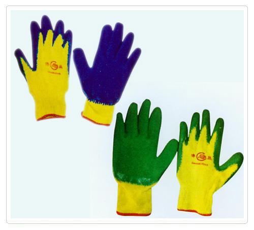 沙线乳胶手套