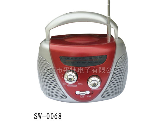 MINI AM/FM RADIO 0068